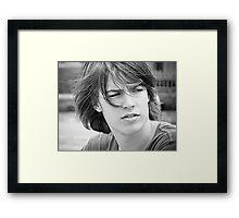 ~ Matthew ~  Framed Print