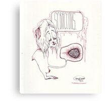 sebaceous glands Canvas Print