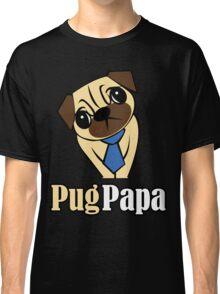 Pug Papa Classic T-Shirt