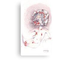 tentacle bonnet Canvas Print