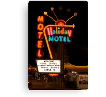 Vegas Motel Canvas Print