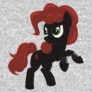 Black Widow Pony by Megan Noble