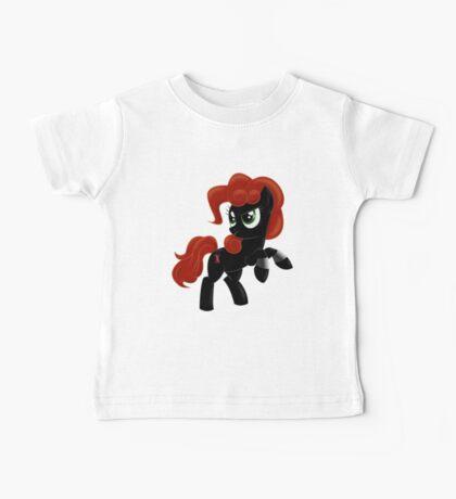 Black Widow Pony Baby Tee