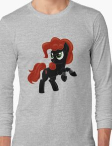 Black Widow Pony Long Sleeve T-Shirt