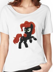 Black Widow Pony Women's Relaxed Fit T-Shirt