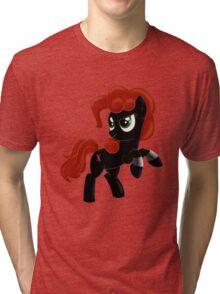 Black Widow Pony Tri-blend T-Shirt