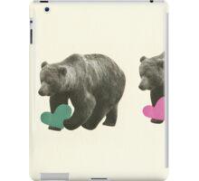 A Bear Romance iPad Case/Skin