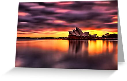 Opera House Sunrise by Arfan Habib