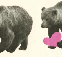 A Bear Romance Sticker