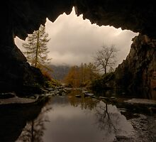 Rydal Cave by Nick Atkin