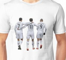 cristiano ronaldo and bale and benzema Unisex T-Shirt