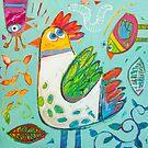 Sweet garden by ART PRINTS ONLINE         by artist SARA  CATENA