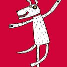 Dancing dog by Nic Squirrell