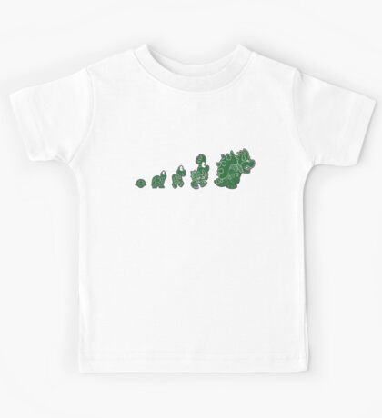 Ascent of Koopa (Green) Kids Tee