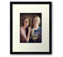 Matilda & Billie Framed Print
