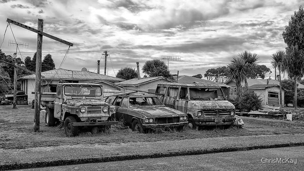 Car Yard by ChrisMcKay