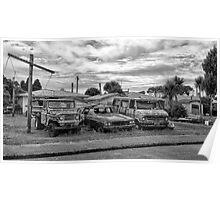 Car Yard Poster