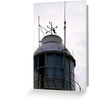 Lighthouse Weather Vane Greeting Card