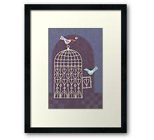 Leaving the Birdcage Framed Print