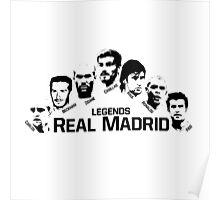 real madrid legends Poster