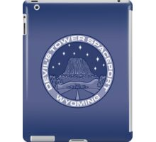 Devil's Tower Spaceport iPad Case/Skin