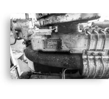 Leyland engine, Metal Print