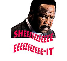 "Clay Davis ""sheeeeee-it"" Photographic Print"