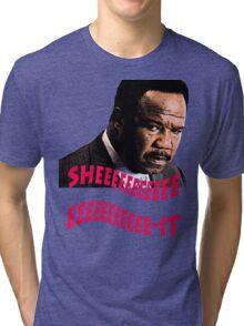 """Clay Davis """"sheeeeee-it"""" Tri-blend T-Shirt"""