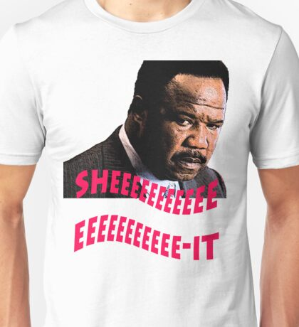 "Clay Davis ""sheeeeee-it"" Unisex T-Shirt"