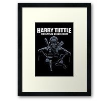 Harry Tuttle - Heating Engineer Framed Print