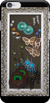 Earrings - iPhone 4/S Case by Bryan Freeman