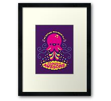 Awesomepus Framed Print
