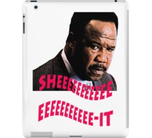 "Clay Davis ""sheeeeee-it"" iPad Case/Skin"