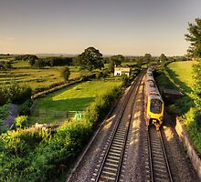 Voyager on Wellington Bank  by Rob Hawkins