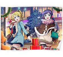 Love Live! School Idol Festival - Christmas Shopping Poster