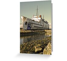 Duke of Lancaster in HDR1 Greeting Card