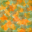 Leaves green orange by RosiLorz
