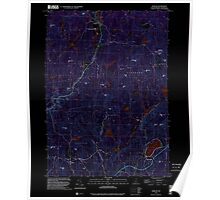 USGS TOPO Map New Hampshire NH Marlow 329658 1998 24000 Inverted Poster