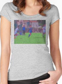 15 00485 0 impressionist Women's Fitted Scoop T-Shirt