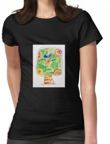 Tree of the Lovebird Womens Fitted T-Shirt