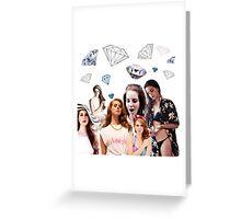 LANA DEL RAY / DIAMOND Greeting Card