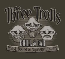 The Three Trolls by DoodleDojo