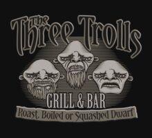 The Three Trolls Kids Tee
