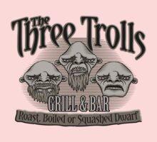 The Three Trolls Baby Tee