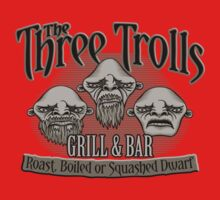 The Three Trolls One Piece - Short Sleeve
