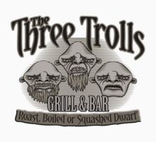 The Three Trolls Baby Tee