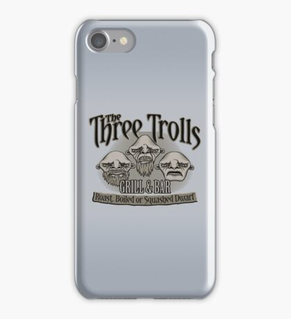 The Three Trolls iPhone Case/Skin