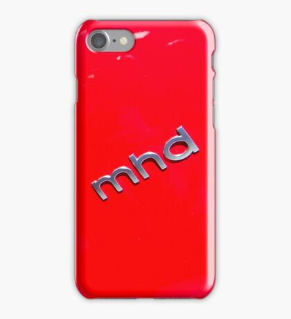 Smart Fortwo mhd Coupe Logo [ Print & iPad / iPod / iPhone Case ] iPhone Case/Skin