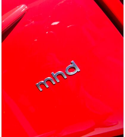 Smart Fortwo mhd Coupe Logo [ Print & iPad / iPod / iPhone Case ] Sticker