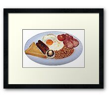 Egg & Bacon Framed Print